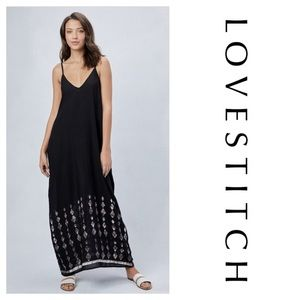 Love Stitch Montecito Mila Maxi Harem Maxi Dress